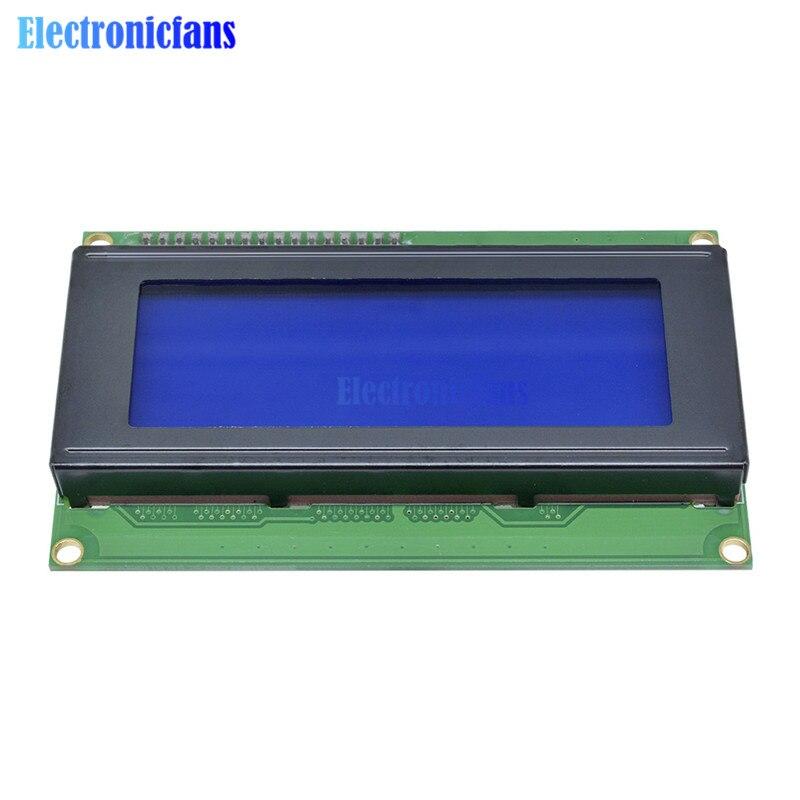 IIC//I2C//TWI//SPI Serial Interface 2004 20X4 Blue Character LCD Module Display