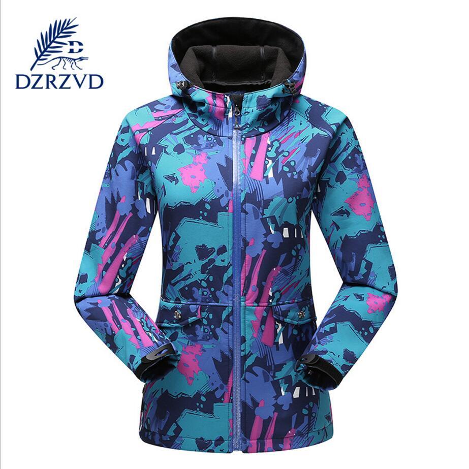 Dicker softshell Winter Sport Jacke Mit Kapuze warmen mantel