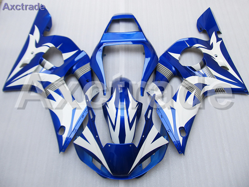Moto Injection Mold Motorcycle Fairing Kit For Yamaha YZF600 YZF 600 R6 YZF-R6 1998-2002 98 - 02 Bodywork Fairings Custom Made