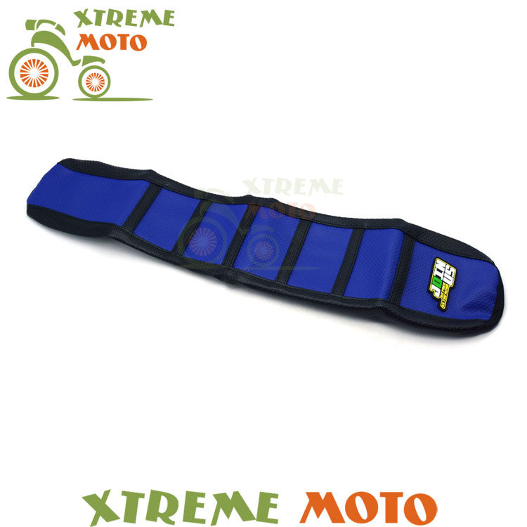 New Rubber Blue Gripper Soft Seat Cover For Yamaha YZ85 YZ 85 2002-2017 Motorcycle Motocross Enduro Dirt Bike Off Road blue gripper soft seat cover for yamaha yzf450 yz450f yz 450f yzf 450 2010 2013 motorcycle motocross enduro dirt bike off road