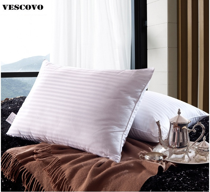 Free shipping 1 piece 100 China m ulberry silk filled pillow with cotton cover
