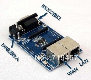 FREE SHIPPING 2PCS/LOT Uartwifi module serial wifi single chip wifi hlk-rm04 test board test board цена 2017