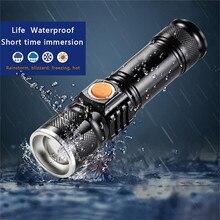 T6 60000 люмен L2 V6 лампа xhp50.2 самый мощный фонарик usb Zoom СВЕТОДИОДНЫЙ Фонарь xhp50 18650 или 26650 перезаряжаемый аккумулятор для охоты
