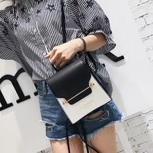 Для женщин уличный стиль мини-рюкзак Новый панелями Джокер Простой Досуг Рюкзак Корейский Стиль Письмо печати двойной ПУ рюкзак