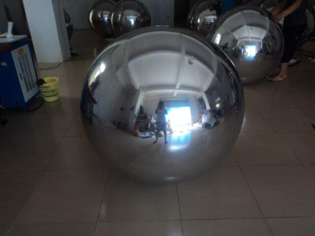 Party napuhavajuća zrcalna kugla, reflektirajuća okrugla - Zabava na otvorenom i sportovi - Foto 3