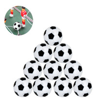 32mm rubber coated green resin football table tennis accessories football 10pcs/LOT W4-010