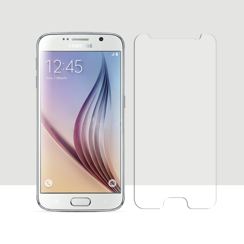 2.5D Curved Edge Screen For Samsung Galaxy S 6 Tempered Glass For Samsung Galaxy S6 G920 Screen Protector Film Front Film 0.26mm