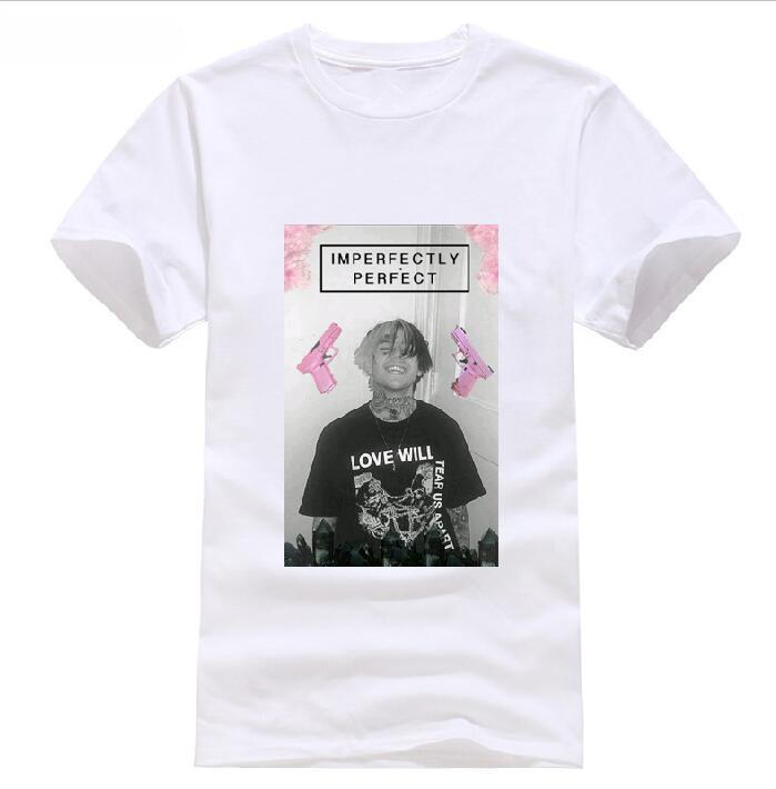 Humor Lil Pump Mens T Shirt Hip Hop Raper 2019 T-shirt Style Round Style T-shirt Tees Custom Jersey T Shirt Hoodie Hip Hop T-shirt Tops & Tees