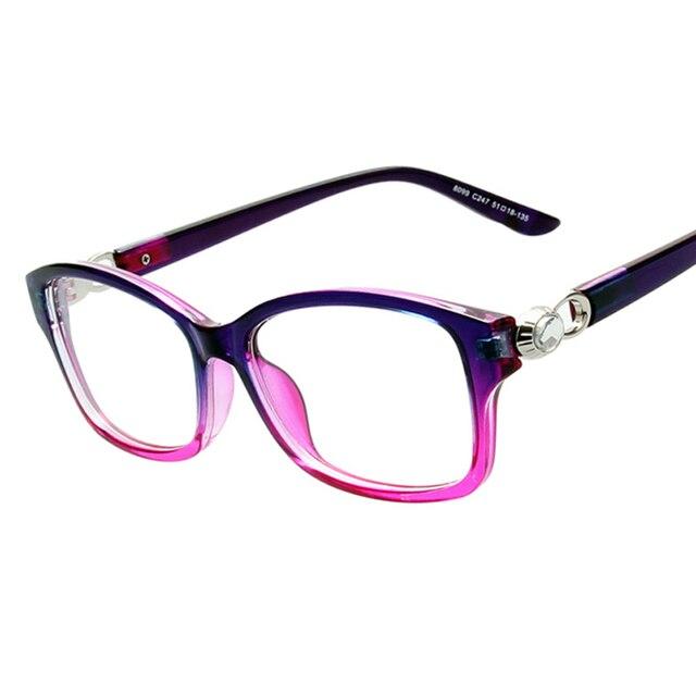 2017 New Brand Crystal connection Women men Glasses frame Optical ...