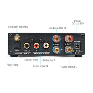 Image 4 - AIYIMA M 98E TDA7498E Bluetooth 4.0 160W+160W Desktop Hifi Digital Power Amplifier Support USB SD MP3/ WMA/APE/FLAC/WAV/WAVE