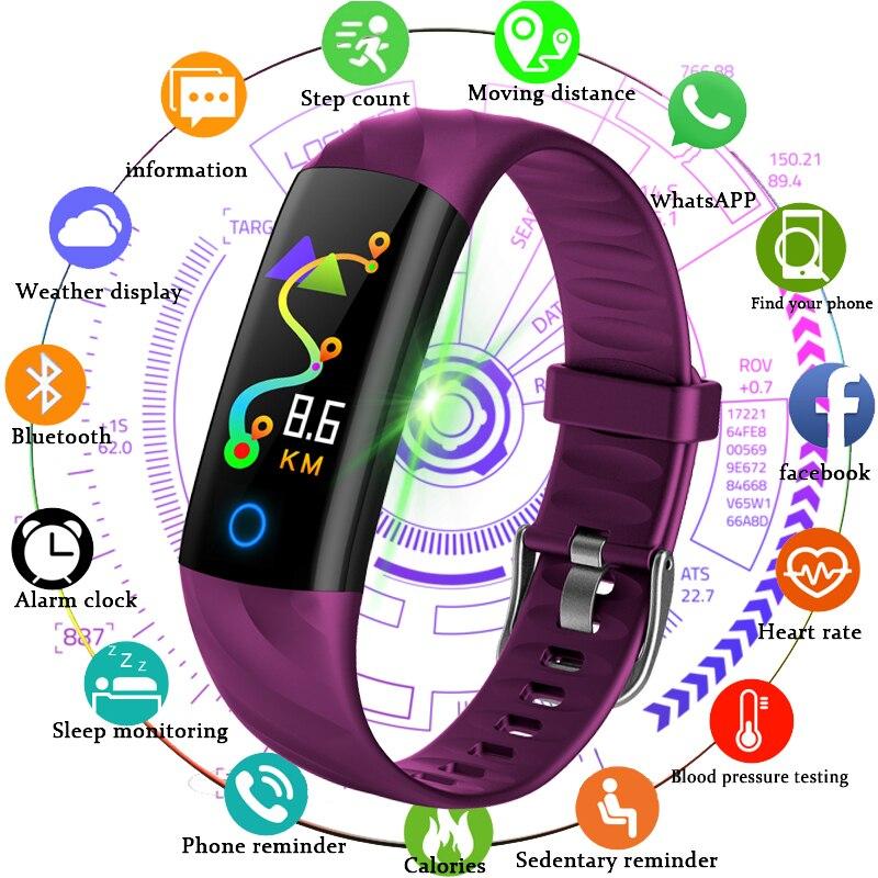 Sport Cool Smart Bracelet Watch Men Pedometer Heart Rate 2019 New Watches Fitness Tracker Smart Wristband Multi Sport Watches