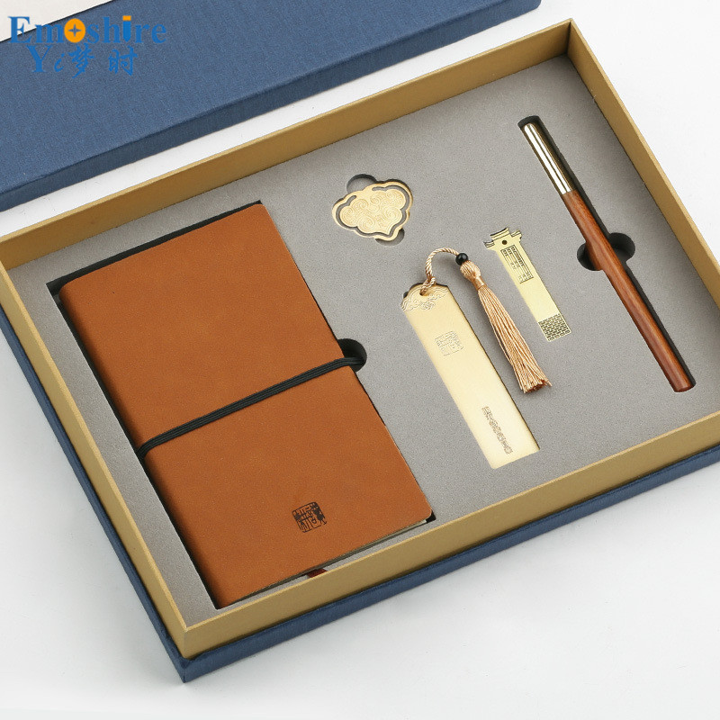 New Notepad Bookmark Metal 16 GB USB Flash Drives And Ballpoint Pen Roller Ball Pen Gift Set for Business Gift With Pen Box P429 цена и фото