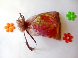 Image 4 - 500 шт., органза для упаковки украшений, 20 х30 см