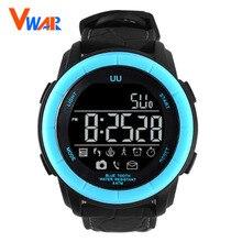 2017 Vwar Bluetooth Smart Watch Wrist Smartwatch Men Women Wristwatch Wearable Device Leather Strap For Apple IOS Android Phone