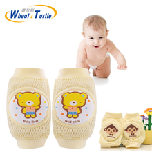 Baby Knee Pads Cartoon Baby Safety Crawling Elbow Cushion Toddlers Knee Pads Protective Gear smith safety gear crown park elbow pads