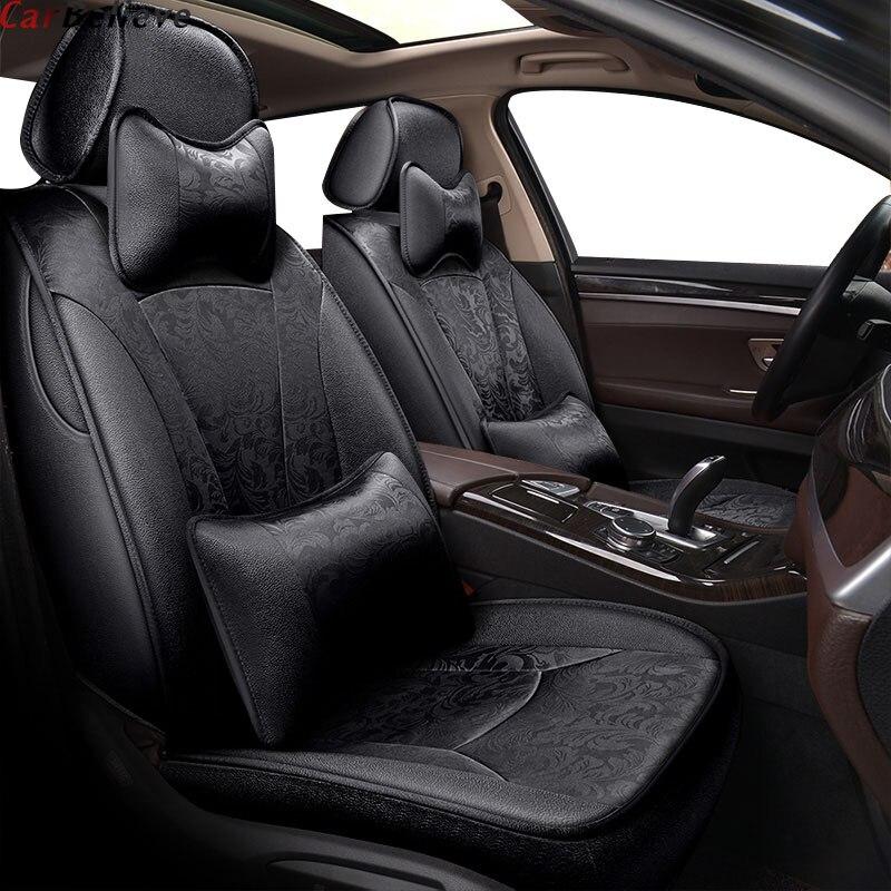 Housse de siège de voiture pour hyundai solaris 2017 creta getz i30 accent ix35 i40 accessoires pour siège de véhicule
