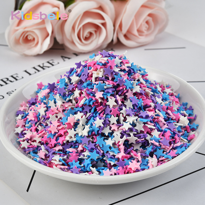 100g/bag Slime Clay Sprinkles Fake Candy Cake Filler Toys For Children Dessert Diy Accessories Girls Phone Case Slime Mud Decora Bright And Translucent In Appearance Learning & Education