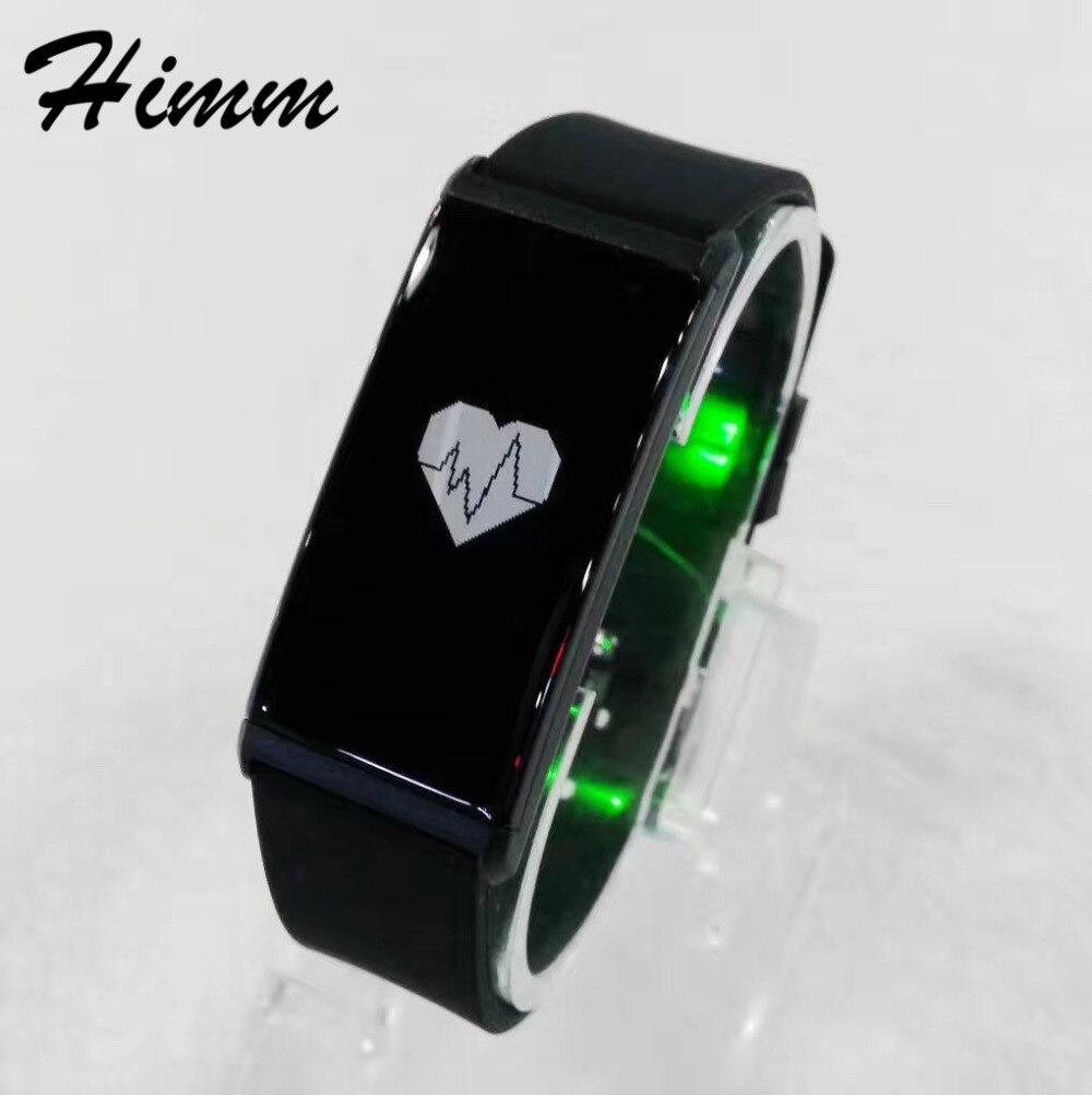 20pcs lot X9 Heart Rate Monitor Smart Wristband Bluetooth4 0 Waterproof Smart Bracelet Blood Fitness Tracker