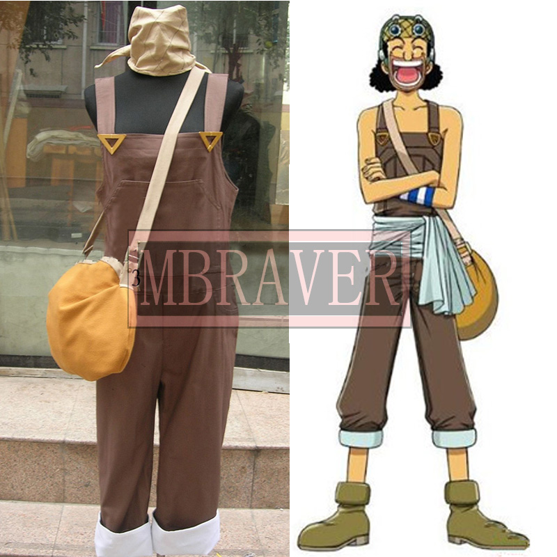 Free Shipping One Piece Usopp Cosplay Costume In Anime Costumes From