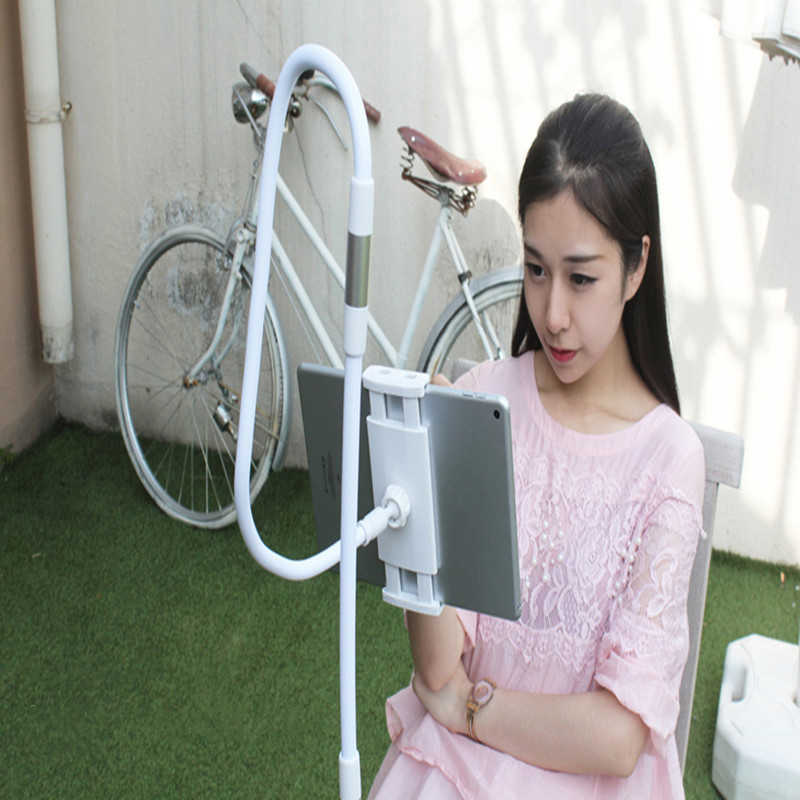 Tablet Holder 85/130 Cm Lengan Panjang Tempat Tidur/Desktop Klip Bracket For3.5 Inci untuk 10.6 Inci iPad Air mini Xiaomi M iPad Kindle Ponsel Tablet