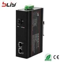 Bliy 1GX2GT профиль крепление Ethernet коммутатор стандарта SPF волокна rj45 закаленные промышленного класса переключатель сетевой гигабитный коммута