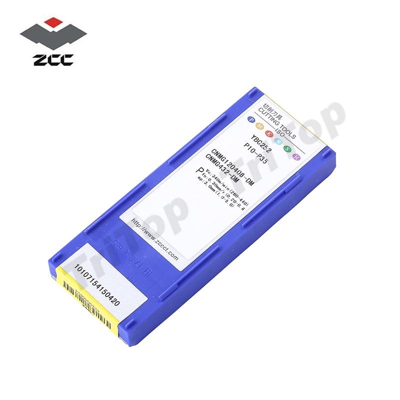 ZCC Vágószerszám CNMG120408 -DM YBC252, ZCC.CT cnmg típusú - Szerszámgépek és tartozékok - Fénykép 6