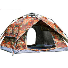 3-4 Person 200*230*140cm Ultralight Large Camping Tent Waterproof Windproof Automatic Tent One Second Open Travel Hiking Tents