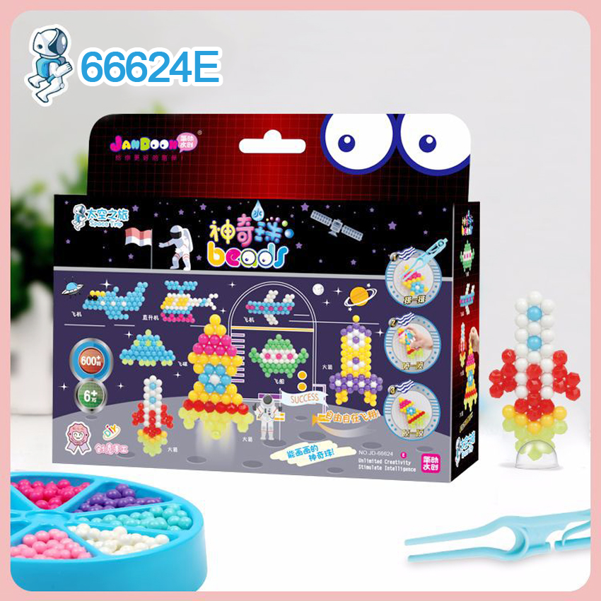 DOLLRYGA Water Beads Set Jouet Enfant Spray Bead 66624E Quality Guarantee Knutselen Kinderen Juguetes Beads DIY Toys Aqua Perlen
