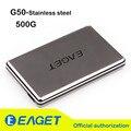 Original Eaget G50 500G USB3.0 Caixa À Prova de Choque de Aço Inoxidável Completa High-Speed Desktop Laptop DISCO RÍGIDO Disco Rígido Móvel
