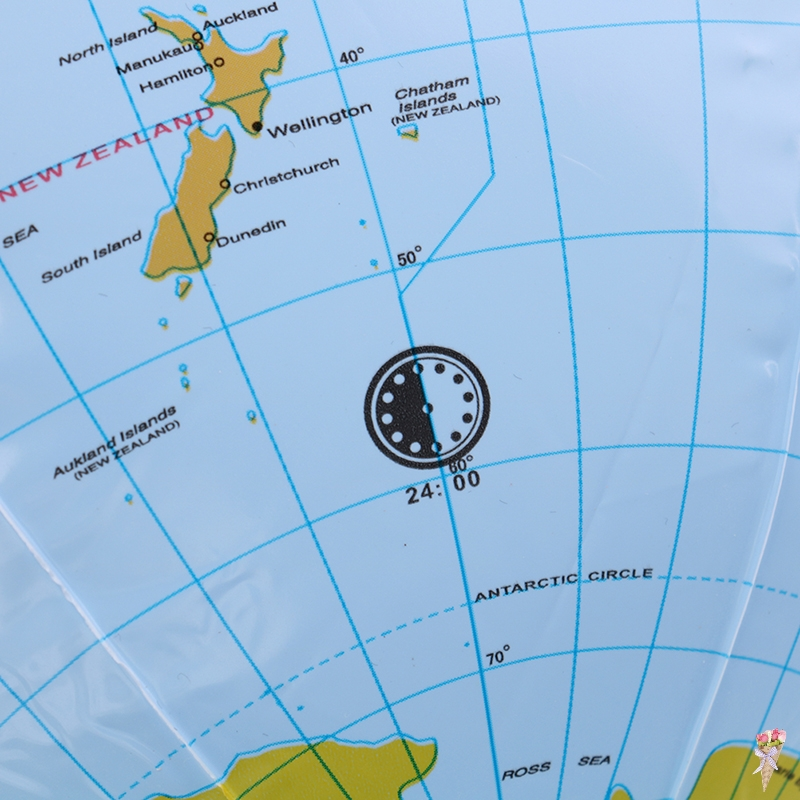 1 шт. 30 см надувной глобус мир Земля Карта океана мяч для обучения по географии обучающий пляжный мяч Детская игрушка