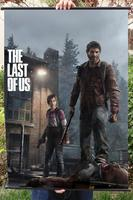 THE LAST OF US HD Game Movie Wall Scrolls Poster Bar Cafes Home Decor Banners