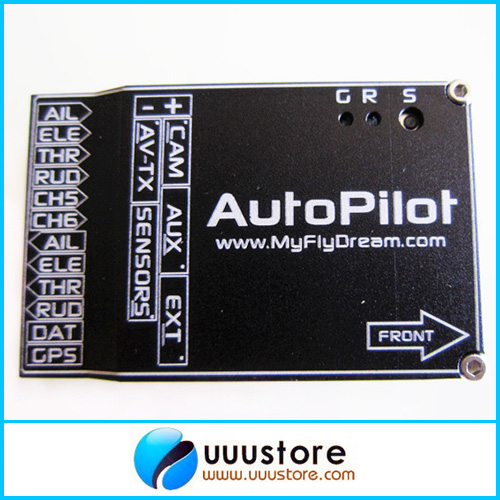 MFD UAV AutoPilot Unit APM compateble Flight Control System w/10 waypoints and GPS for RC Plane rctimer atlas flight control system included gps