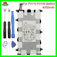 Original 4000mAh SP4960C3B Battery for Samsung Galaxy Tab 2 7.0 GT P3110 GT P3113 P3100 P3110 P6200 P3113 with tool