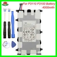 Original 4000mAh SP4960C3B Battery for Samsung Galaxy Tab 2 7.0 GT-P3110 GT-P3113 P3100 P3110 P6200 P3113 with tool