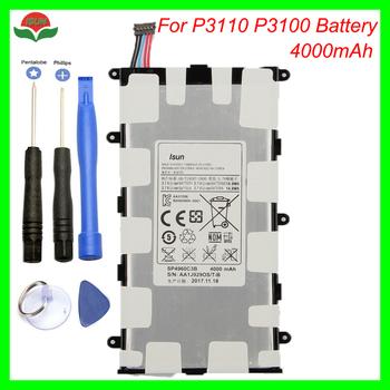 Oryginalny 4000mAh SP4960C3B bateria do samsunga Galaxy Tab 2 7 0 GT-P3110 GT-P3113 P3100 P3110 P6200 P3113 z narzędzia tanie i dobre opinie ISUNOO 3501 mAh-5000 mAh Kompatybilny For Galaxy Tab 2 7 0 SP4960C3B