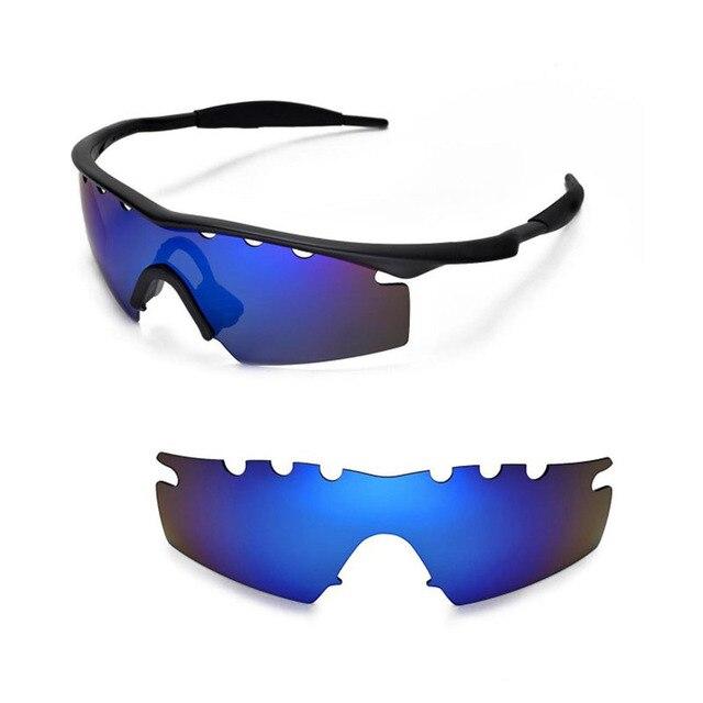 Walleva Поляризованный Сменные Линзы для Oakley М Рамка Удар (Полный) Солнцезащитные Очки 2 цвета