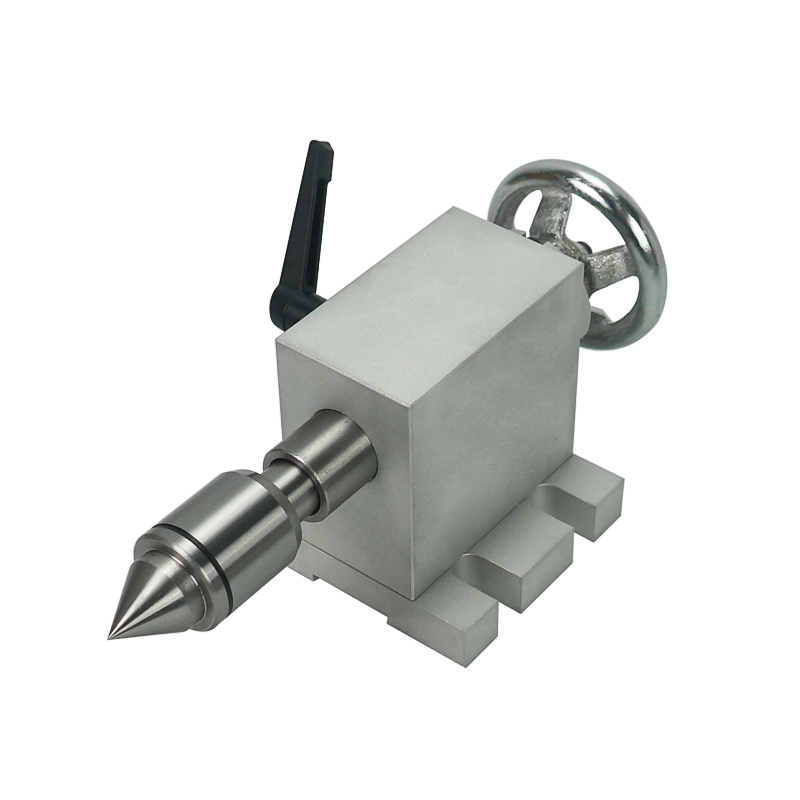 CNC Tailstock For Cnc Rotary Axis 80mm Chuck Cnc Engraving Milling Machine