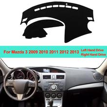 Samochód wnętrze deska rozdzielcza pokrywa mata na deskę rozdzielczą dywan poduszki parasol przeciwsłoneczny deska rozdzielcza Pad dla Mazda 3 M3 BL 2009 2010 2011 2012 2013 LHD RHD tanie tanio Włókien syntetycznych ZJZKZR For Mazda 3 M3 BL 2009 2010 2011 2012 2013