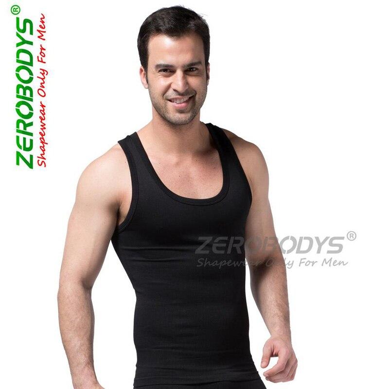 2017 Mannen Afslanken Vest Lift Body Shaper Riem Ondergoed Elastische Shapewear Tops Vesten Hot Koop Kortingen Sale