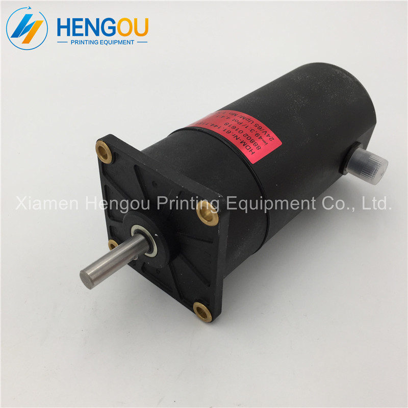 1 Piece good working condition Heidelberg CD102 servo-drive motor 24V DC Motor For SM102 printing machine 61.144.1151/01 dhl ems san yo servo motor q1aa04010dxs1s good in condition for industry use a1