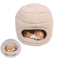 warm-pet-cat-house-cave-beds-puppy-dog-sleeping-bag-with-removable-cushion