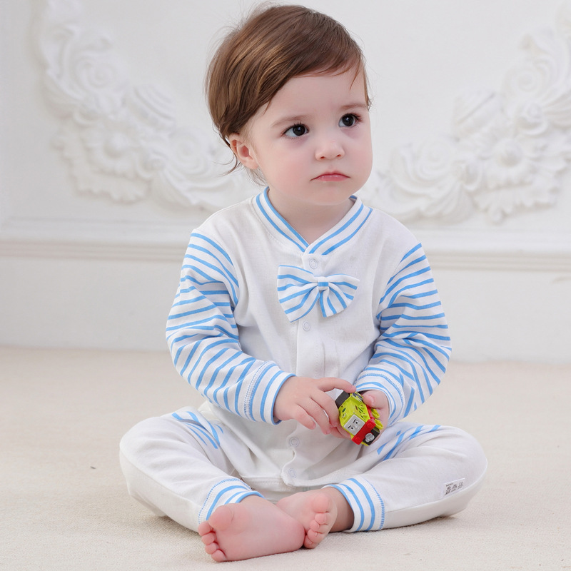 Newborn Baby Clothes Cotton Long Sleeve Spring Autumn Baby Rompers Soft Infant Clothing Toddler Baby Boy Girl Jumpsuits Clothes