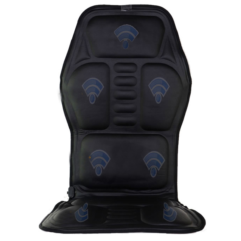 HFR-858-1F HealthForever Brand DC12V Adaptor Car Plug PU Leather Vibrating Heat Function Home & Massage Cushion Pad