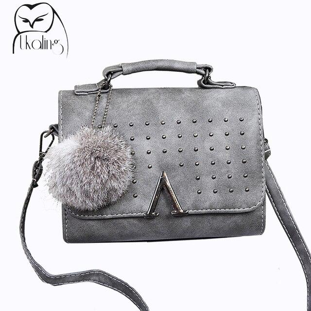 UKQLING Brand 2016 Women Messenger Bags Women's Handbag Luxury Handbags Women Bags Designer Purse Lady Purse Flap Sac Tote Small