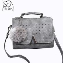 UKQLING Brand 2017 Women Messenger Bags Women's Handbag Luxury Handbags Women Bags Designer Purse Lady Purse Flap Sac Tote Small
