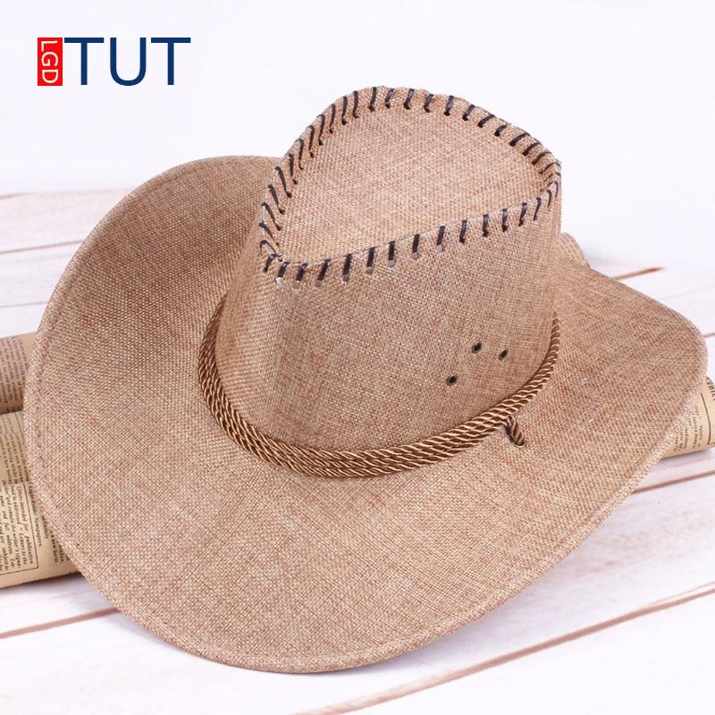 Galeria de chapeu masculino cowboy por Atacado - Compre Lotes de chapeu  masculino cowboy a Preços Baixos em Aliexpress.com d6ad6f86bbc