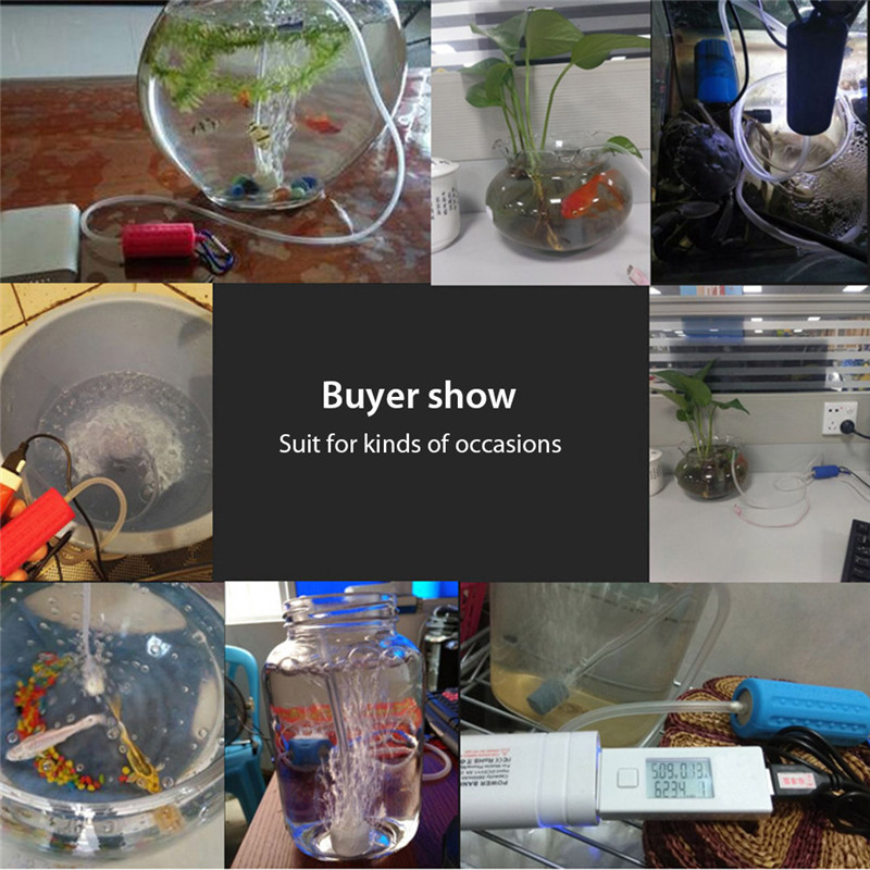 Aquarium Air Pump Portable Mini USB Oxygen Air Pump Mute Energy Saving Supplies Aquatic Terrarium Fish Tank Accessories01