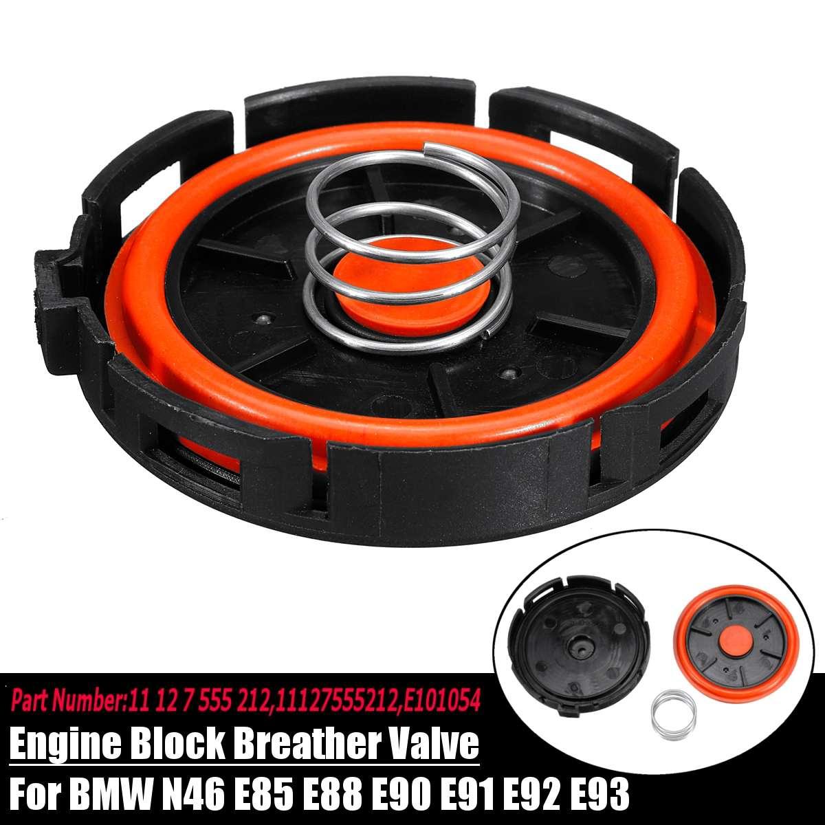 Car Accessories Engine Block Breather ValveVacuum Control 11127555212 For BMW N46 E81 E82 E84 E85 E87 E88 E90 E91 E92 E93