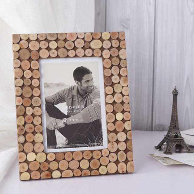 Creativas dimensiones decorativo de madera de los hogares del marco ...