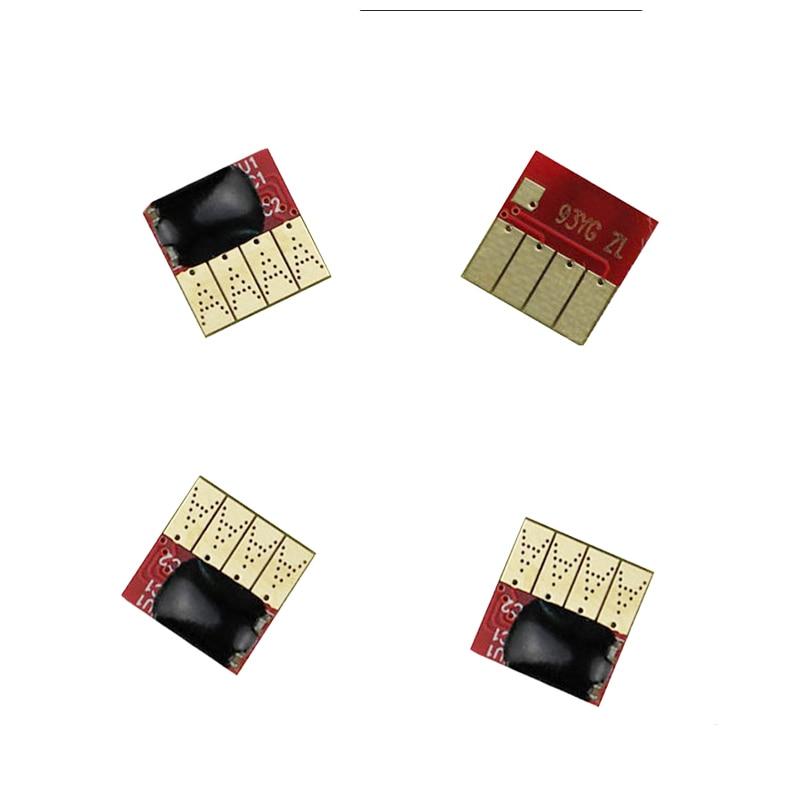 4 pcs Permanent chips For HP970 971 Auto Reset Permanent Chip For HP officejet Pro X451dn/X551dw/X476dn/X576dw Printer цена